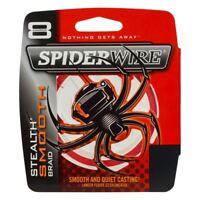 Spiderwire Stealth Smooth 8 Carrier Braid Code Red 150m