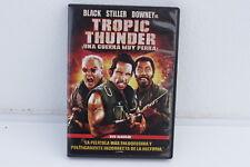 TROPIC THUNDER UNA GUERRA MUY PERRA - BLACK - STILLER - DOWNEY - DVD ED ALQUILER