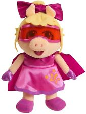 Super Fabulous Miss Piggy Muppet Babies Plush Disney Junior Stuffed Animal - NEW