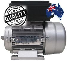 Single Phase Electric Motor 240V 1.5 kW 2 HP 1400rpm 4 Pole