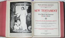 Vintage Bibles: New Standard Reference Bible  -  1936 -  Hertel publishers