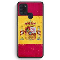 Spanien Grunge Espana Spain Silikon Hülle für Samsung Galaxy A21s Motiv Desig...
