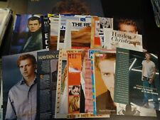 Hayden Christensen  28 full pages  Clippings