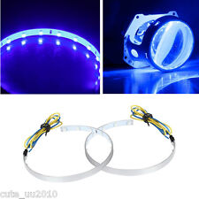 Blue High Demon Eye Halo Ring For Headlight Projectors or Retrofit Projector Len
