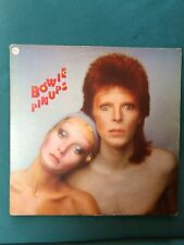 """BOWIE PIN-UPS FRENCH IMPORT 12"""" LP 12 TRACKS RARE ALBUM + INNER PICTURE SLEEVE"""