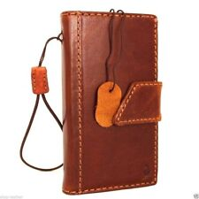genuine vintage leather case for Nokia Lumia 1020 book Wallet cover brown new uk