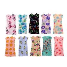 10 Stile Mixed Styles Handmade für Barbie Kleid Mini Puppe Kleid für Puppen