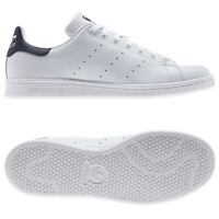 Adidas Originaux Stan Smith Triners Blanche Marine Tennis HOMME Baskets