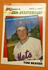TOM SEAVER 1987 KMART 25TH ANNIVERSARY #21 CARD