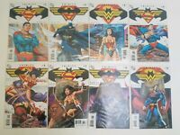 DC Comics Trinity Comicbook lot #1,2,3,4,5,7,8,9 ( missing #6) 2008 series
