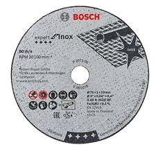 Bosch 5 x Dischi Expert for inossidabile per Mini Smerigliatrice GWS 10 8-76