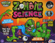 Weird Crazy Science Zombie Horror Experiment Set Kids Lab Activity Kit RB09-0006