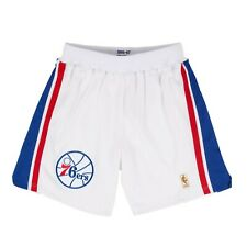 Philadelphia 76ers White Mitchell & Ness Authentic NBA Basketball Shorts