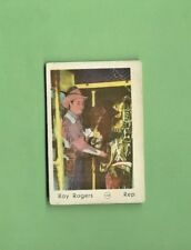 ROY ROGERS 1952 MAPLE LEAF GUM STARS #108 MADE IN HOLLAND VG