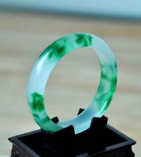 Chinese Natural Jade Jadeite Bangle blue Bracelet 58-60mm