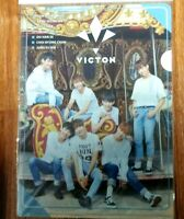 VICTON Photo Clear File Folder Pocket Holder KPOP Hanse SeungSik HeoChan SeJun