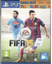 PLAYSTATION 4 FIFA 15 PS4 USATO GARANTITO