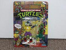 1990 Playmates TMNT Ninja Turtles 27-Back Mondo Gecko MOC New Unpunched