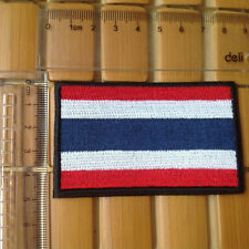 Country Thailand Flag 3D TACTICAL MILITARY MORALE BADGE HOOK LOOP PATCH