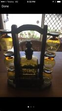 Genie Bottle Decanter And Hand Carved Timber Stand Jimboomba Or Capalaba