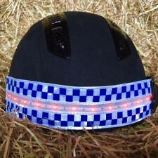 EQUISAFETY POLITE LED RECHARGEABLE FLASHING HATBAND.Be safe..Be Seen !