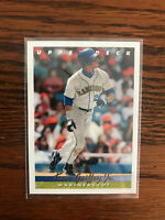 1993 Upper Deck #355 Ken Griffey Jr Baseball Card Seattle Mariners Raw