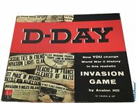 Vintage Board Game D-Day: World War II Invasion Game by Avalon Hill
