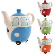 Teiere arancione in ceramica