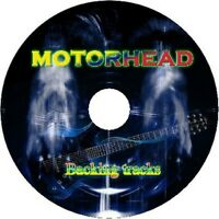 MOTORHEAD GUITAR BACKING TRACKS CD BEST GREATEST HITS MUSIC PLAY ALONG MP3 ROCK