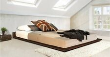 Handmade Wooden Low Modern Bed - By Get Laid Beds