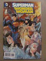 Superman Wonder Woman #1 NEW 52 DC Comics 2013 Series 1st Print 9.6 Near Mint+