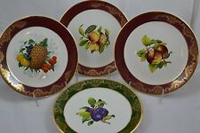 Weatherby Hanley Royal Falconware Set of 4 Fruit Plates Rare Pinapple
