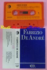 MC FABRIZIO DE ANDRE' Omonimo 1 STAMPA italy RICORDI STVK 76351 cd lp dvd vhs