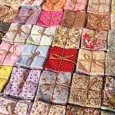 50Pcs Cotton Fabric Bundle Patchwork Quilting Sewing Crafts Scrapbook 10x10cm BK