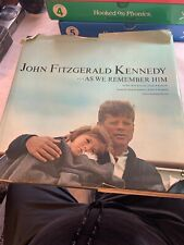 Joan Simpson Meyers JOHN FITZGERALD KENNEDY AS WE REMEMBER HIM 1st Edition