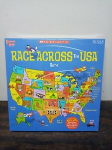 @@Scholastic Race Across America Game University Games New Educational Teaching@