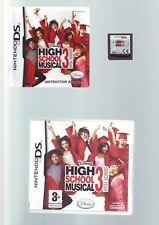 HIGH SCHOOL MUSICAL 3 SENIOR YEAR - GIRLS DS GAME / LITE DSi, 3DS - COMPLETE VGC