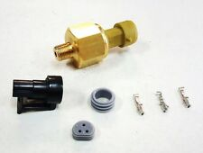 "AEM 150 Psi Brass Oil/Fluid Pressure Sensor Kit & Connector 1/8"" NPT"