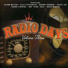 RADIO DAYS VOL.3 - 20 NOSTALGIC TRACKS BANDS & SOLO ARTISTS  CD FREE POST IN UK