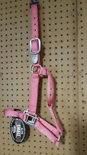 Weaver elite small Horse size halter, coral 500-800 lbs. 35-6504CL