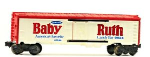 Vintage Lionel Curtiss Baby Ruth Candy Bar Advertising Reefer 9854
