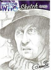 Dr Doctor Who Trilogy Sketch Card drawn by Cynthia Cummens /2 - The 5th Doctor
