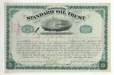 1890 Standard Oil Trust Bond - J.D. Rockefeller & J.D. Archbold