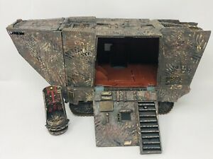 Vintage Star Wars Jawa Sandcrawler 1979 Kenner Custom Radio Controlled