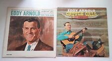 Eddy Arnold Cattle Call and Sing Them Again RCA Victor 60s Cowboy Record Albums