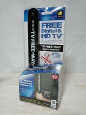 As Seen On TV Free-Way Clear HD Television Portable Digital Antenna Broadcast