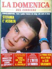 La Domenica del Corriere 9 Ottobre 1982 Stefania Monaco Pentito Vitale Mafia Tv