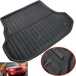 For Subaru Forester 2003-2008 Cargo Boot Liner Floor Tray Carpet Rear Trunk Mat