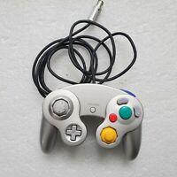 Genuine OEM Nintendo GameCube Controller Platinum Silver DOL-003 Tested