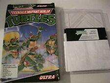"Teenage Mutant Ninja Turtles PC game 5.25"" disks Ultra games"